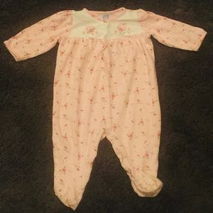 LITTLE ME One piece Footed outfit